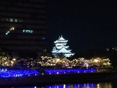 小倉城ライトアップ