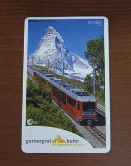 ゴルナーグラート鉄道切符