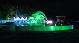 イルカ噴水