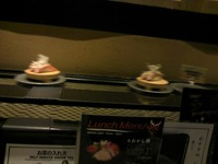 六本木の回転寿司
