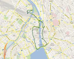 GPS_チューリッヒ散策