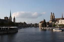 チューリッヒの川