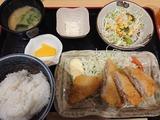白身フライ定食@ウタカタ