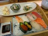 にぎり寿司定食@おさしみ本舗