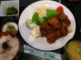 鶏の唐揚げ定食@玉乃家