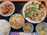 回鍋肉ランチセット@延寿飯店