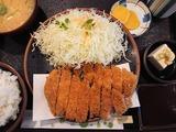 特上ロース定食@竹乃家