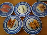寿司6皿+あさり汁@くら寿司