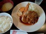 トンテキランチ@ぶひ豚屋