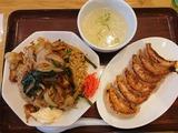 生姜焼き炒飯+餃子@大阪王将