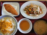 魚フライ定食@まいどおおきに食堂