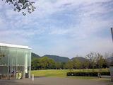 maru 2 tasu の前に広がる芝生公園