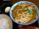 カレーうどん@丸亀製麺
