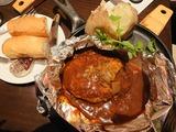 百年洋食ハンバーグステーキAセット@東洋亭