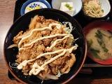 スタミナ丼定食@あざみ食堂