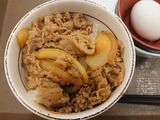 牛丼ミニ+玉子@すき家