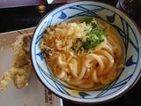 釜玉うどん@丸亀製麺