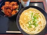 鶏唐丼セット@玉屋