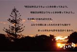 わだかまりが溶ける夕日の頃に。