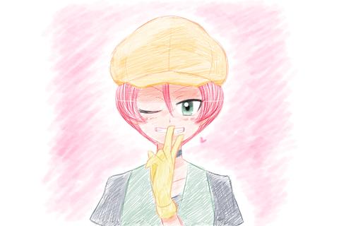 えんぴつぐれ桃