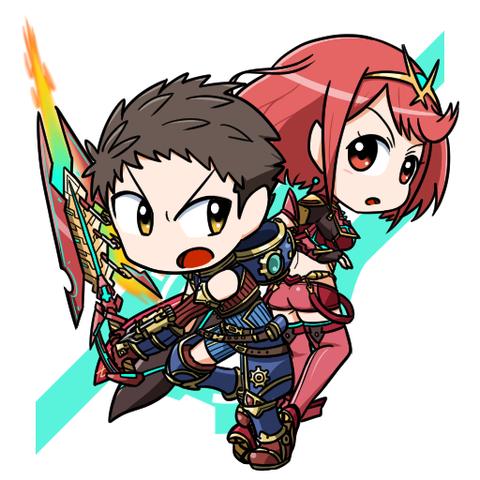 レックス&ホムラ