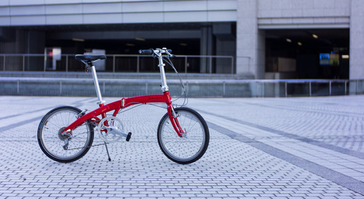 それは、この折りたたみ自転車 ...