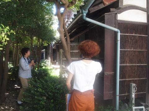 旧山川邸の現況調査が実施されました。