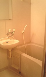 ピエスZen・1K・アパート・浴室