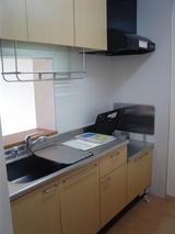 イーストヴィレッジB・1LDK・アパート・キッチン
