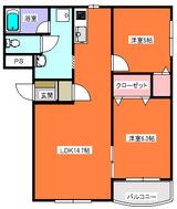 コンドミニオン・小型犬可・2LDK・マンション・角部屋