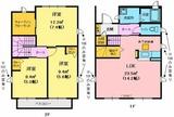メゾン・ピュアコート・3LDK・アパート・間取図