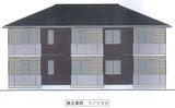 多賀城市高崎2丁目・新築AP・1LDK・外観パース3