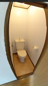 サンフラワー�・3DK・トイレ