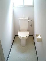 グリーンヴェール・2LDK・アパート・トイレ