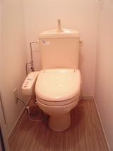 マーメゾンB・1K・アパート・トイレ