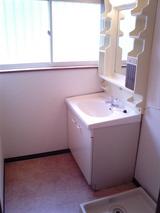 ムーンリットファウンテン・2K・アパート・洗面