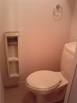 オーシャンメゾン・2DK・アパート・トイレ