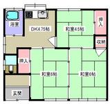 浮島2丁目・3K・戸建貸家・間取図