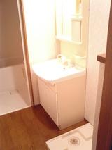 ウィングハウス・2LDK・アパート・洗面