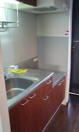 ピエスZen・1K・アパート・キッチン