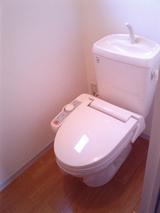 ショコラハウス�・2DK・アパート・トイレ