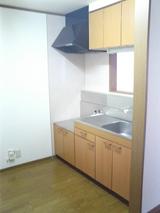 ウィングハウス・2LDK・アパート・キッチン