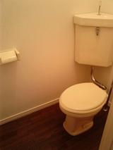 パルメゾンF1・1K・アパート・トイレ