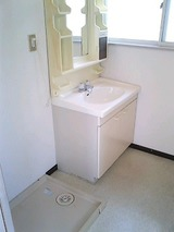 グリーンヴェール・2LDK・アパート・洗面