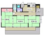 十三本塚・若生3K戸建貸家・間取図1(3号)