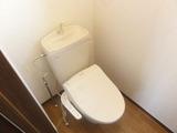 ショコラハウス・アパート・2DK・トイレ
