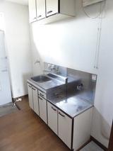 MJハイツ・1K+ロフト・アパート・キッチン