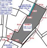 みのが丘・125坪・住宅用地・地形図