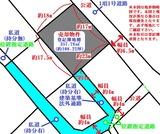 仙台市青葉区国見6丁目・108坪・住宅・アパート用地・地形図