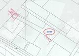 塩釜市新富町・大型4SLDK・中古住宅・地形概略図